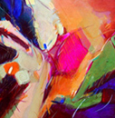 abstract acrylic charlotte riley-webb